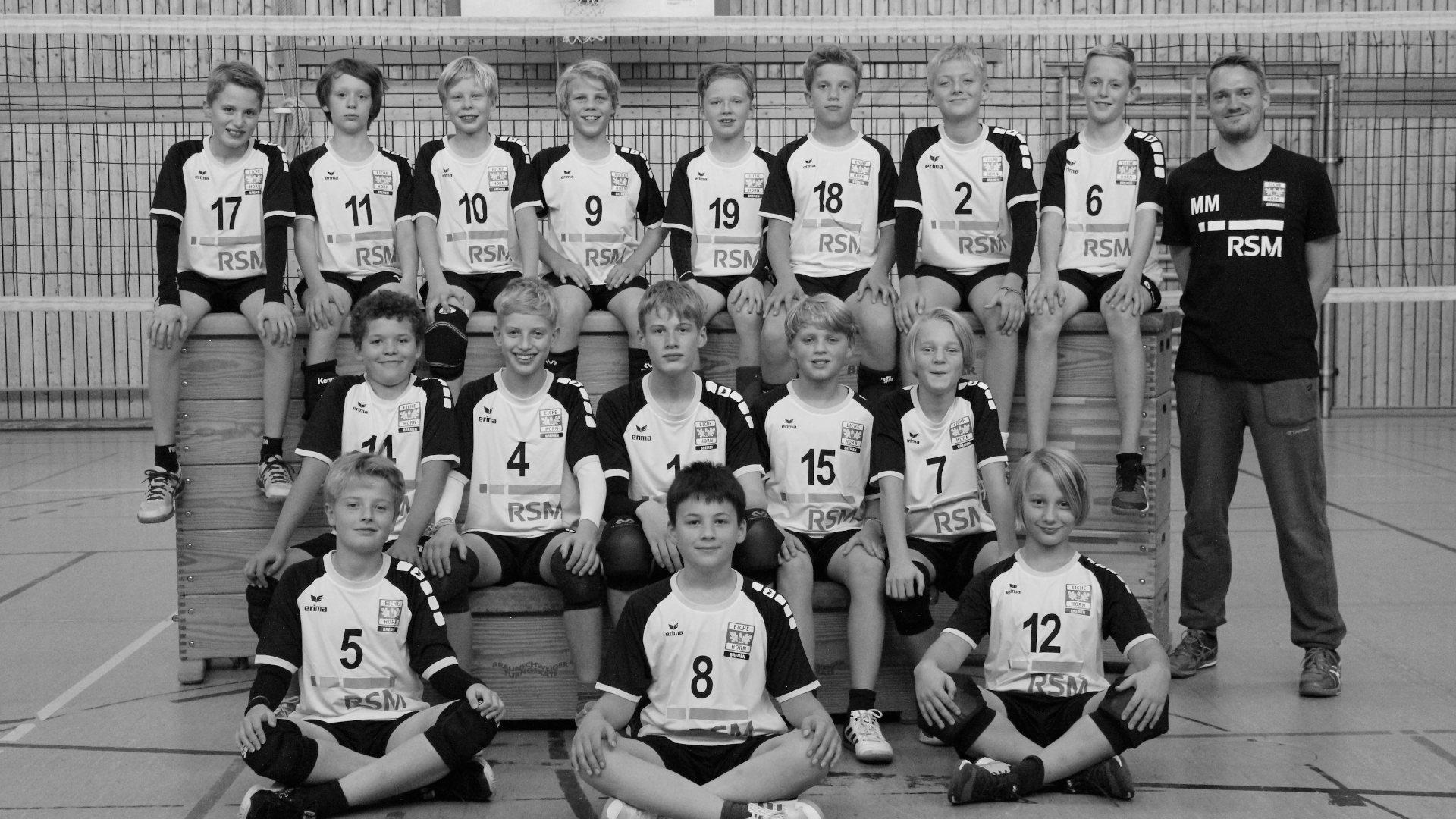 Eiche Horn Volleyball U14-U13 männlich