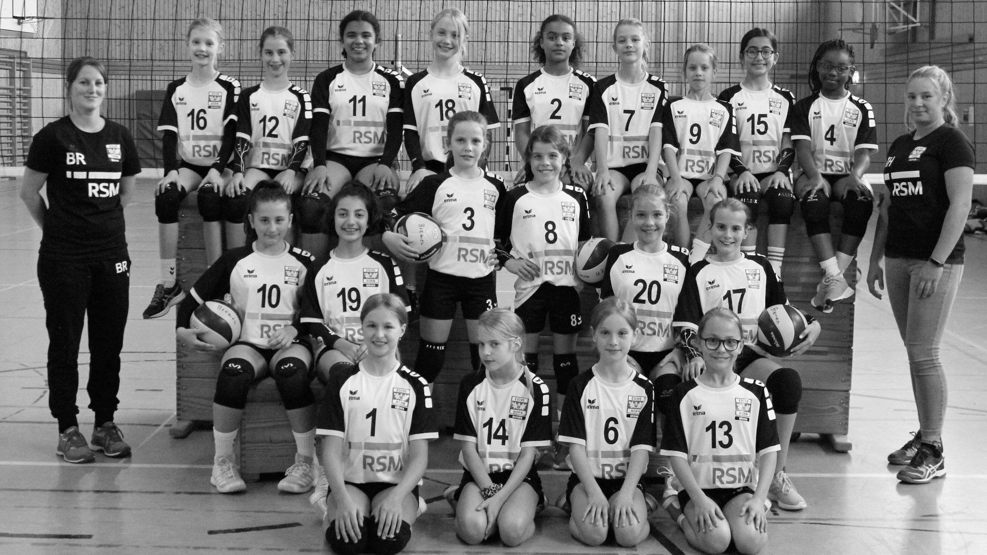 Eiche Horn Volleyball U14-U13 weiblich